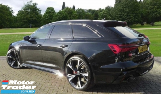 2020 AUDI RS6 Avant 4.0L (New Facelift) S.Line TFSi Quattro Wagon* U.K AUDI Approved Pre-Owned* Genuine Mileage