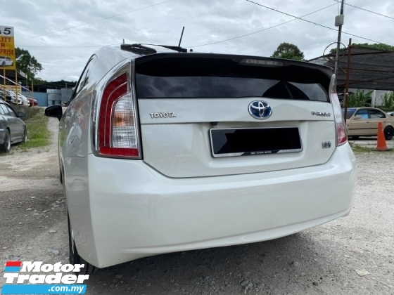 2013 TOYOTA PRIUS 1.8 (A) Facelift LeatherSeat JBL Luxury Camera