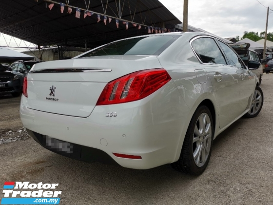 2012 PEUGEOT 508 Premium One Owner Accident Free Service Record