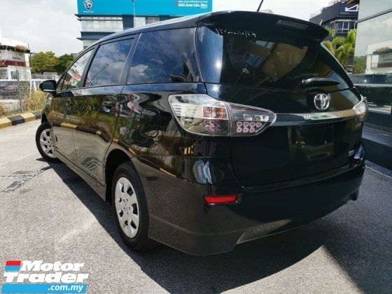 2017 TOYOTA WISH 1.8 X UNREGISTERED 5 YEARS WARRANTY