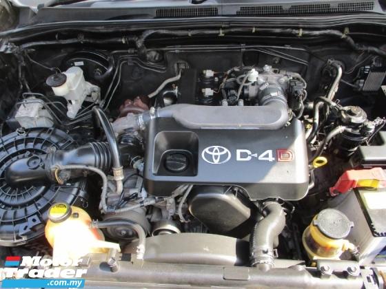 2010 TOYOTA HILUX 2.5 G DOUBLE CAB (A) 4x4 PickUp DieselTurbo