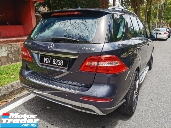 2013 MERCEDES-BENZ ML 350 AMG (A) NO PROCESSING CHARGE