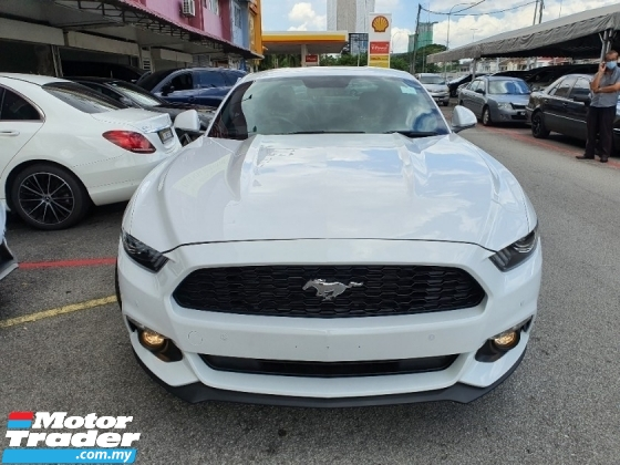 2018 FORD MUSTANG 2.3 (A) Ecoboost *Driven 18K KM* Local AP *Unreg*