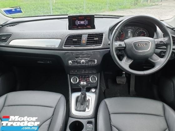 2012 AUDI Q3 2.0  TFSI Quattro SUV PUSH START S-LINE LIKE NEW