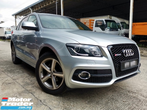 2012 AUDI Q5 2.0 TFSI ONE OWNER ACCIDENT FREE