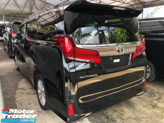 2018 TOYOTA ALPHARD 2.5 S Edition New Facelift 7 Seat Power Boot 2 Power Doors 360 Surround Camera Pre Crash Lane Assist