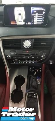 2017 LEXUS RX 200T F SPORT 2.0 TURBO FUSPEC.UNREG.RED LEATHER.MEMORY SEAT.PRE CRASH.BLINDSPOT.ORI 360 CAMERASUNROF