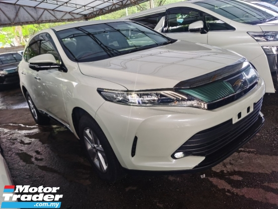 2018 TOYOTA HARRIER TOYOTA HARRIER 2.0 FACELIFT 4 CAMERA POWER BOOTH RED BLACK INTERIOR PRE CRASH 2018