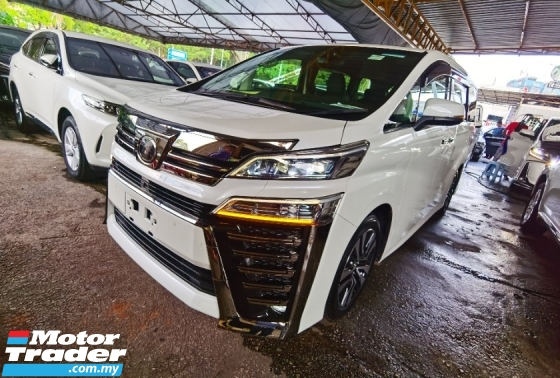 2018 TOYOTA VELLFIRE TOYOTA VELLFIRE 2.5 ZG FACELIFT LED SEQUENTIAL SIGNAL JBL SOUND DIM BSM LKA SUNROOF 2018 JAPAN UNREG
