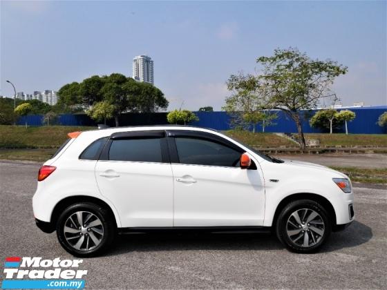2017 MITSUBISHI ASX  2.0  SUV *KEYLESS*PADDLE SHIFT*4WD*