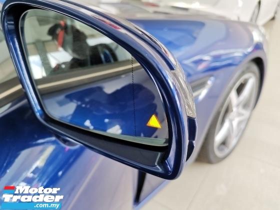 2016 MERCEDES-BENZ SLC 180 AMG CONVERTIBLE BLUE SPECIAL COLOR UNREG