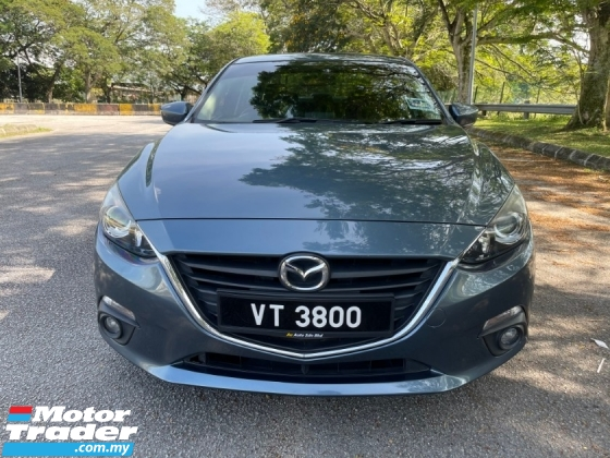 2017 MAZDA 3 2.0 (A) SKYACTIV Full Service Record 1 Owner Only
