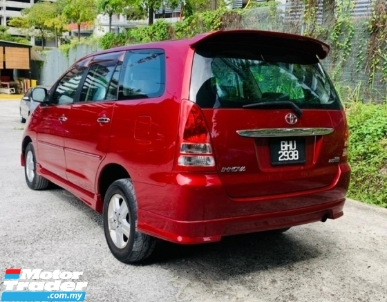 2005 TOYOTA INNOVA 2.0 G FULL SPEC,2 AIRBANG,FULL BODYKIT,NEW STOCK