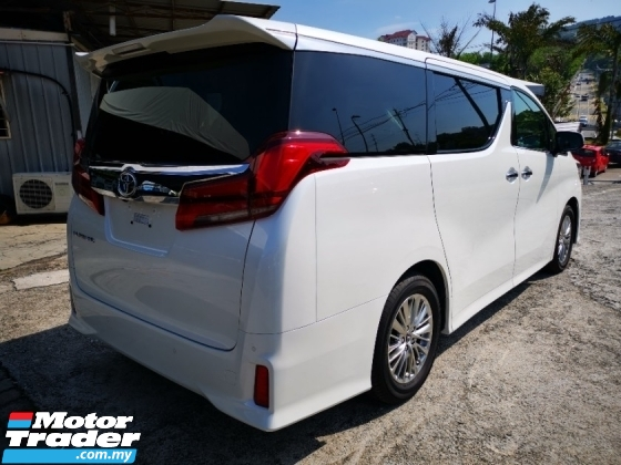 2019 TOYOTA ALPHARD SC 2LED NEW CAR Recon 3 Year Warranty