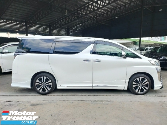 2018 TOYOTA VELLFIRE 3.5 ZG 3LED Sun Roof DIM PCS LTA PB Leather Modelistakits Unregister