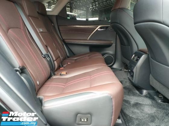 2016 LEXUS RX 200T Luxury Sun Roof 4Cam Leather PCS LKA HUD BSM PB Unregister