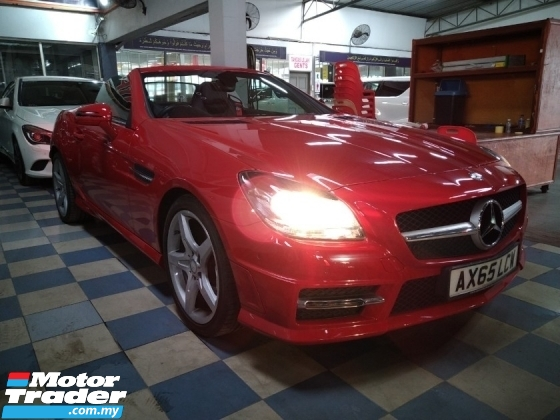 2016 MERCEDES-BENZ SLK SLK200 2.0 AMG SPORT free 3 years warranty