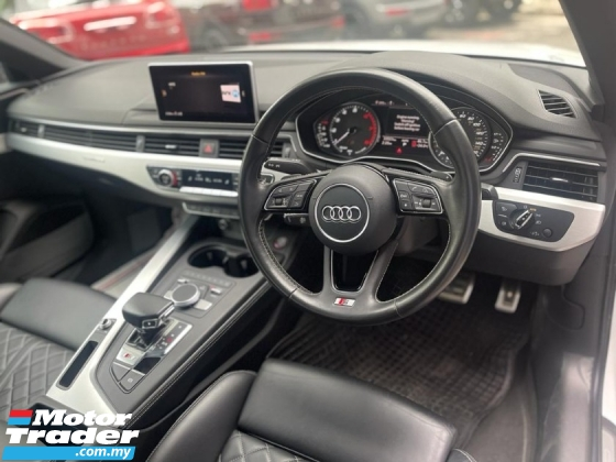 2017 AUDI S4 3.0 V6T SUPER NICE AND POWER CAR