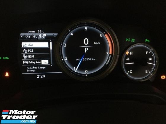 2018 LEXUS RX 300T  F-Sport SUV HUD 3LED BSM UNREG