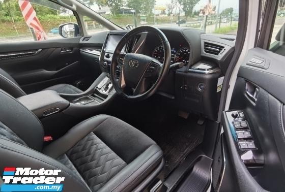 2016 TOYOTA VELLFIRE 2.5 ZG Pilot Seat