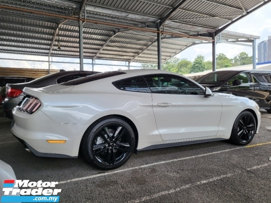 2017 FORD MUSTANG 2.3 EcoBoost Unregistered Genuine Price No Processing Fee Needed No Hidden Charges 310hp SHAKER