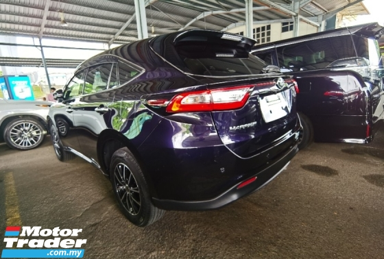 2018 TOYOTA HARRIER 2.0 FACELIFT JBL 4 CAMERA POWER BOOTH BLACK INTERIOR PRE CRASH 2018 JAPAN UNREG FREE 3 YRS GMR