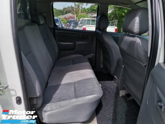 2014 TOYOTA HILUX 2.5(M) VNT 4WD 4X4 PICKUP TRUCK