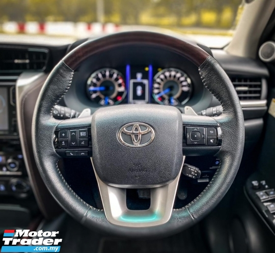 2017 TOYOTA FORTUNER 2.7 SRZ 4x4 (A) POWER BOOT , NAPPA LEATHER SEAT