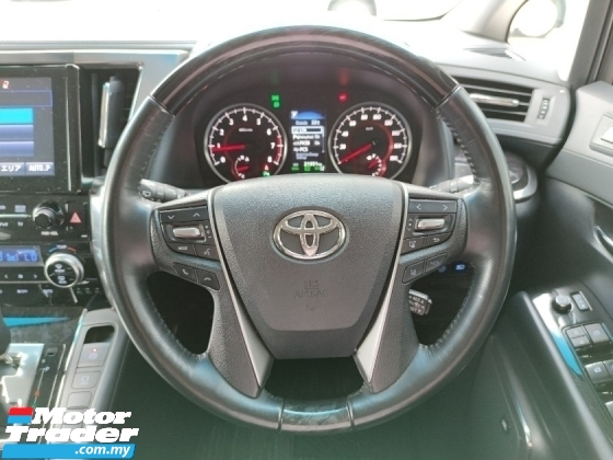 2018 TOYOTA VELLFIRE 2.5 ZG 3LED JBL HT PCS LKA BSM DIM Unregistered