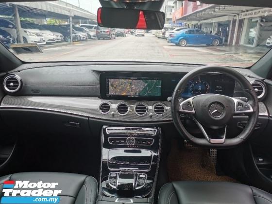 2018 MERCEDES-BENZ E-CLASS E300 AMG LINE