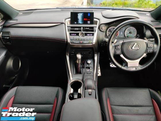 2016 LEXUS NX 200T F Sport 4WD HUD PCS LKA PBoot Leather Mark Levinson Sound Unregister