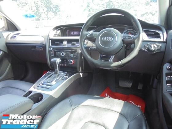 2012 AUDI A4  1.8 TFSI S-Line P/Shift Facelift LikeNEW