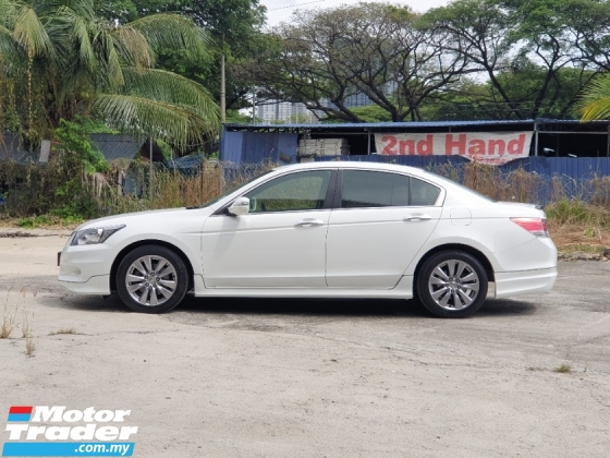 2012 HONDA ACCORD 2.4 VTi-L FACELIFT VIP NUMBER PLATE 1OWNER ONLY