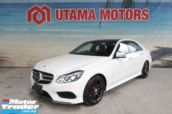 2016 MERCEDES-BENZ E-CLASS E250 AMG PANORAMIC ROOF 360CAM RAYA SALE SPECIAL