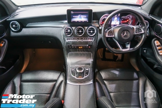 2018 MERCEDES-BENZ GLC 250 AMG COUPE SUNROOF HARI RAYA SALE SPECIAL