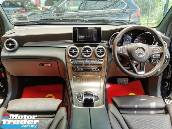 2017 MERCEDES-BENZ GLC Mercedes Benz GLC200 EXECUTIVE POWER BOOT WARRANTY