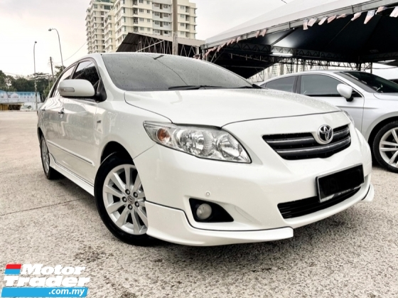 2010 TOYOTA COROLLA ALTIS 1.8 G (A)Tiptop Condition, Electric Seat, Call Now