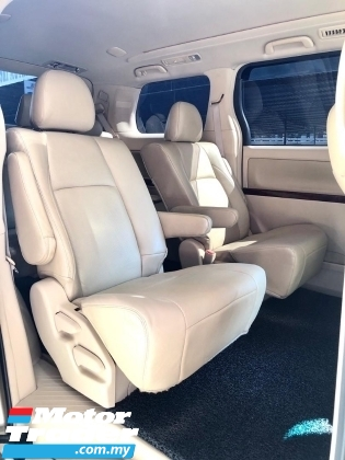 2010 TOYOTA ALPHARD 3.5 V AUTO LIMITED GOLD COLOUR 1 OWNER MALAY