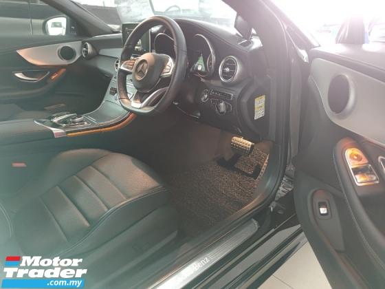 2016 MERCEDES-BENZ C-CLASS C180 AMG Coupe Pre Crash LKA Unreg
