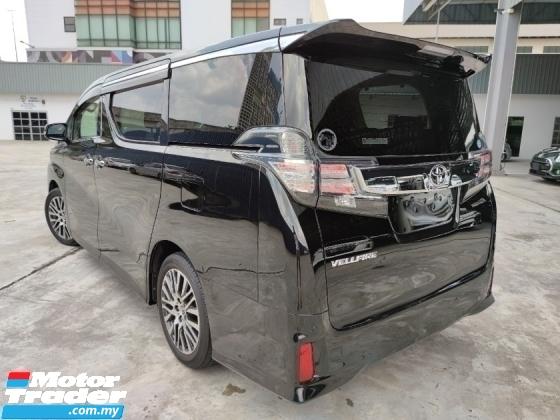 2016 TOYOTA VELLFIRE 2.5 ZG Pilot Seat Power Boot Unreg