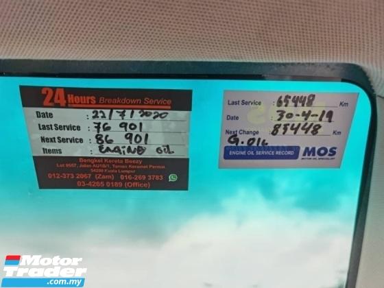 2012 TOYOTA AVANZA 1.5 G FACELIFT 1 LADY OWNER RAYA PROMOTION