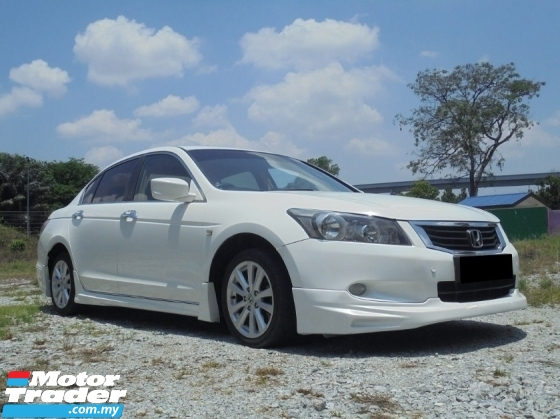 2009 HONDA ACCORD i-VTEC VTi-L Sedan MUGEN TipTOP Condition LikeNEW