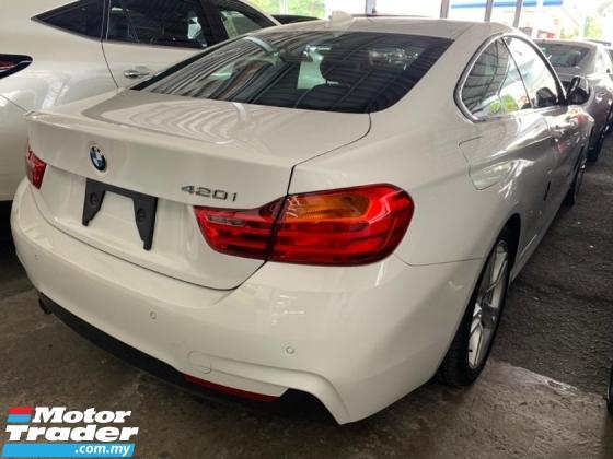 2015 BMW 4 SERIES 420i Coupe M Sport Unregister Japan Spec Negotiabl