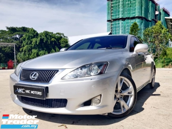 2009 LEXUS IS 250 CARKING CONDITION/One Owner/Nice Plate Number