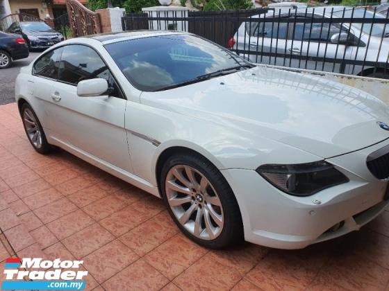 2007 BMW 6 SERIES 630I