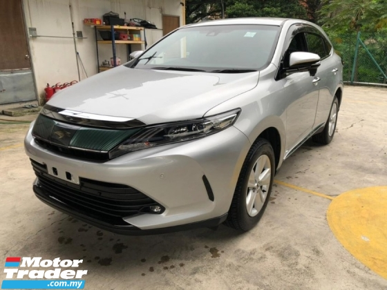 2017 TOYOTA HARRIER TOYOTA HARRIER 2.0 FACELIFT 4 CAMERA POWER BOOTH RED BLACK INTERIOR PRE CRASH 2017