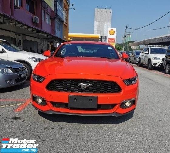 2017 FORD MUSTANG ECO BOOST