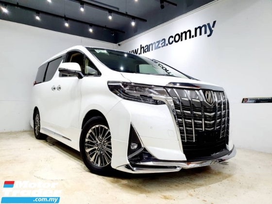 2018 TOYOTA ALPHARD  3.5 GF MODELISTA SR 3LED DSM DIM READING LIGHT JBL 360 CAM