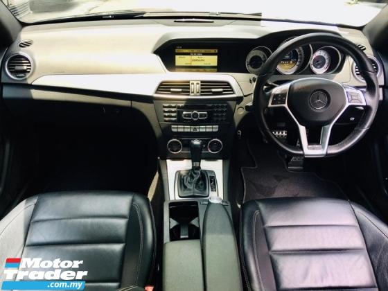 2011 MERCEDES-BENZ C-CLASS  C250 AMG COUPE CGI BlueEFCY