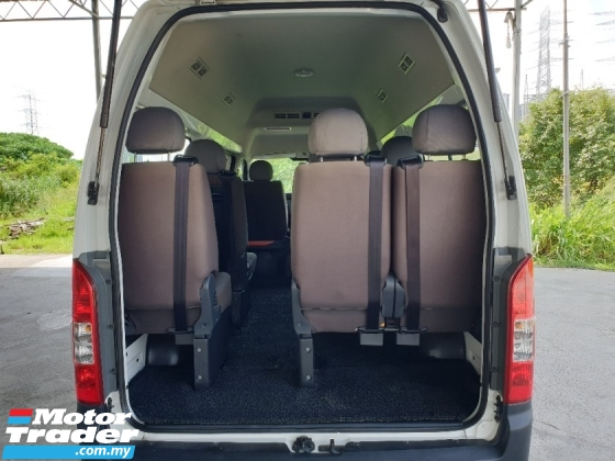 2017 FOTON VIEW C2 WINDOW VAN LUXURY 11 SEAT 36K KM ONLY LIKE NEW